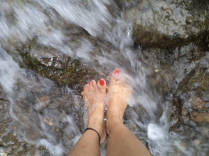 river feet