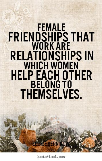 female-friendships